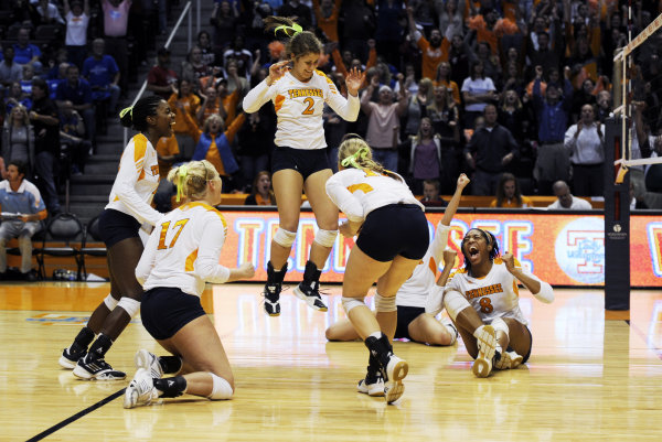Lady Vols Beat KY to Cinch SEC Title 11.23.11 JUBILATION photo by Patrick Murphy-Racey:UTADPHOTO