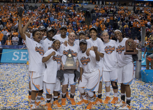 Lady Vols vs. LSU (3.4.12) SEC Tournament Championship The 2012 SEC Tournament Champion Universityh of Tennessee Lady Volunteers Photo By William Ewart:UTADPhoto