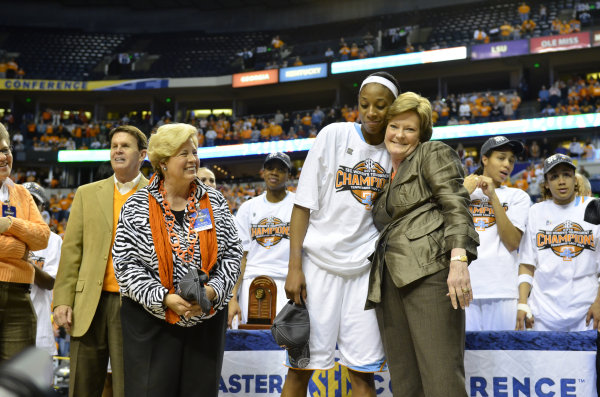Pat Summitt Wins the SEC 2012